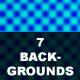 Seven color backgrounds - GraphicRiver Item for Sale