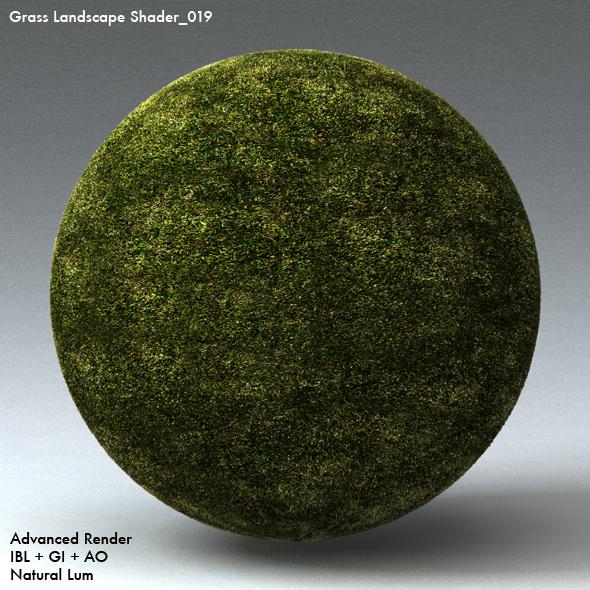 Grass Landscape Shader_019 - 3DOcean Item for Sale
