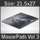 Mouse Pad Mockups - 21.5 x 27 - Corner Type 3