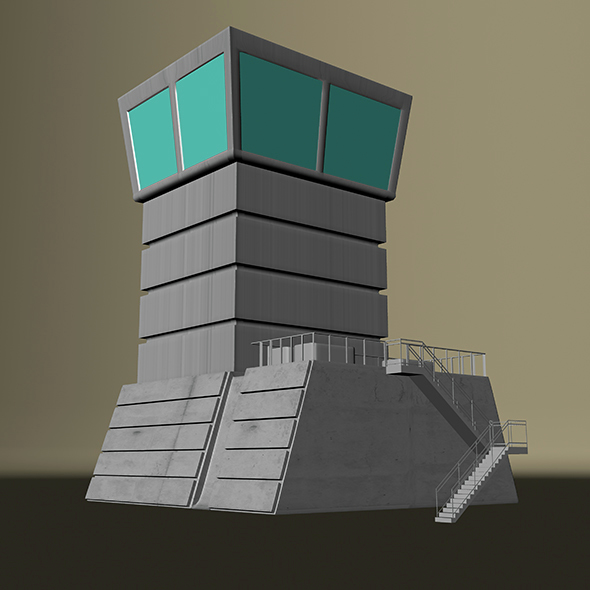 Control Tower  - 3DOcean Item for Sale