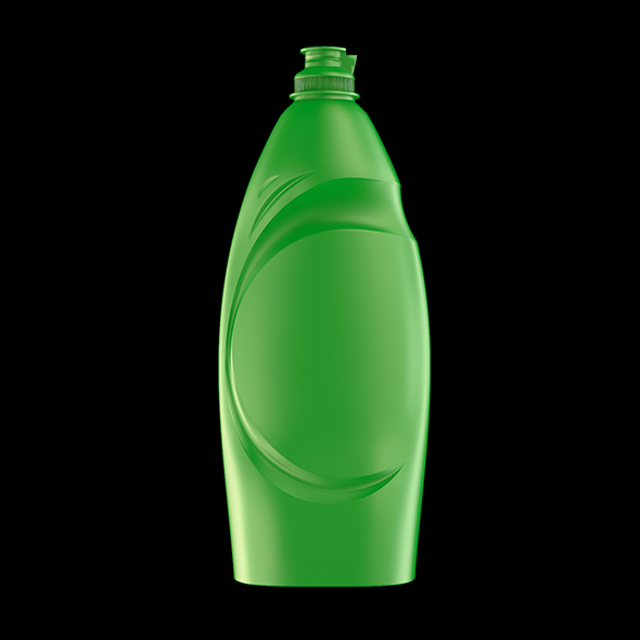 Detergent Bottle 900 ml - 3DOcean Item for Sale