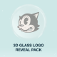 3D Glass Logo Reveal Pack