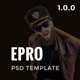 Epro - Responsive Ecommerce PSD Template