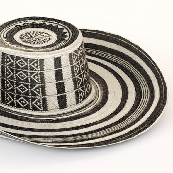 Hat Colombia Sombrero Vueltiao - Columbia - 3DOcean Item for Sale