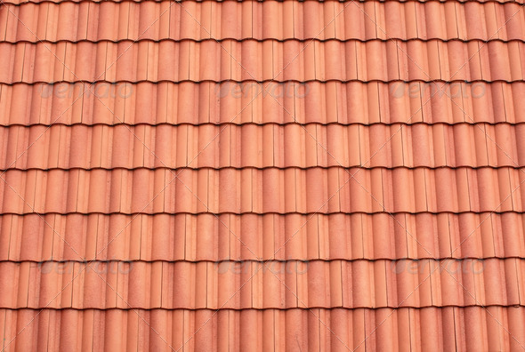 Roof tile pattern stock photo photodune for Roof tile patterns