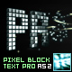 Pixel Block Text Pro AS2 - ActiveDen Item for Sale