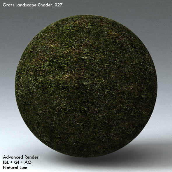 Grass Landscape Shader_027 - 3DOcean Item for Sale
