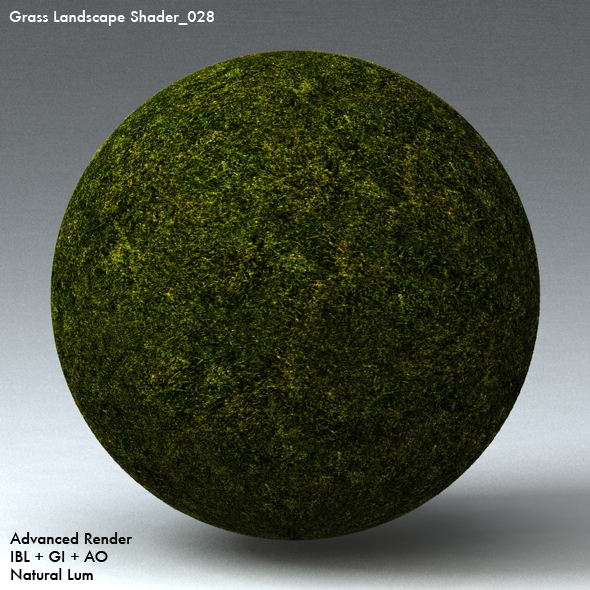 Grass Landscape Shader_028 - 3DOcean Item for Sale
