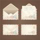 Letter Mail Vintage Set