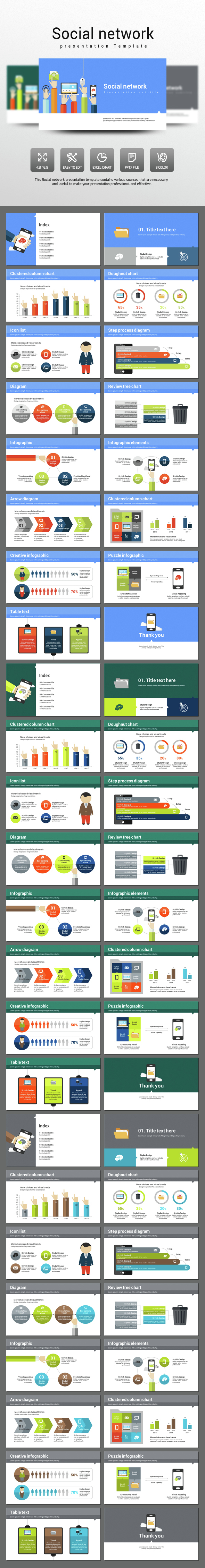 Social network (PowerPoint Templates)