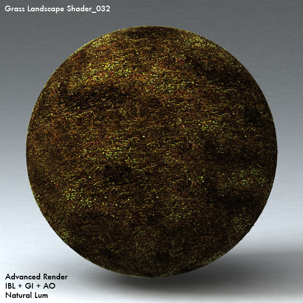 Grass Landscape Shader_032 - 3DOcean Item for Sale