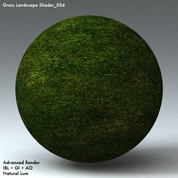 Grass Landscape Shader_034 - 3DOcean Item for Sale
