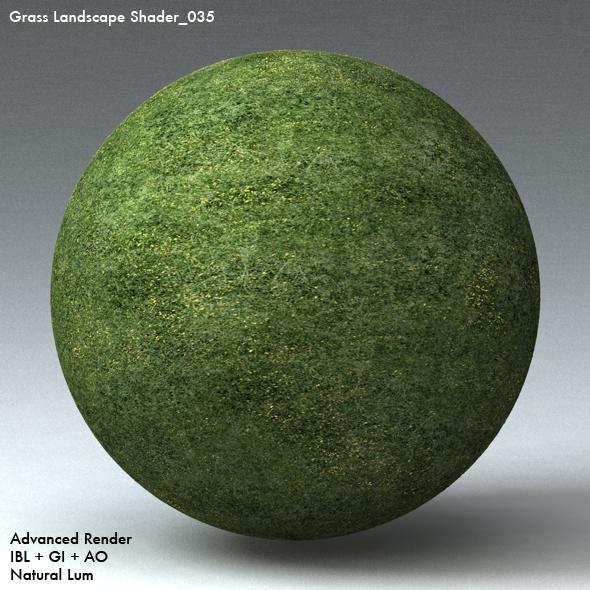 Grass Landscape Shader_035 - 3DOcean Item for Sale