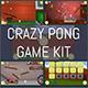 Crazy Pong Game Kit