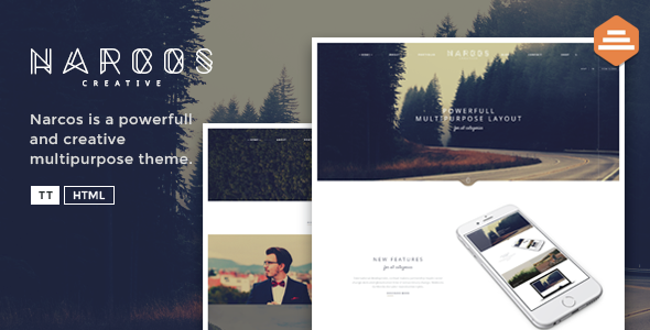 Narcos - Creative Multipurpose HTML Template