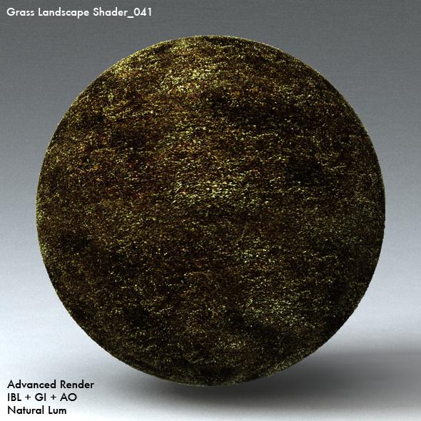 Grass Landscape Shader_041 - 3DOcean Item for Sale