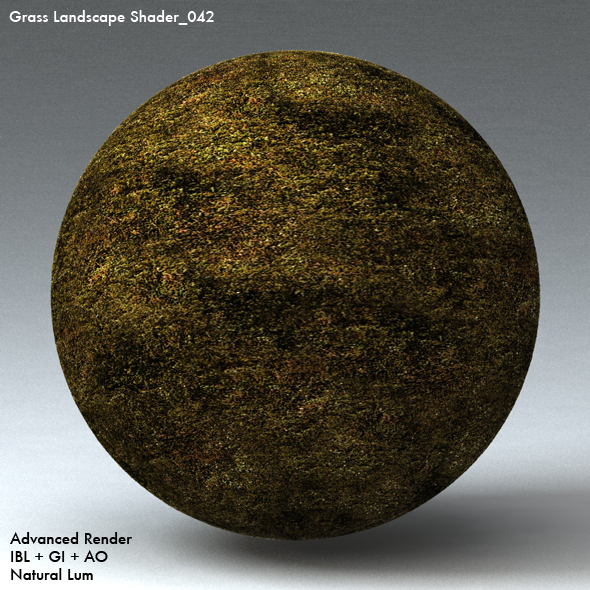 Grass Landscape Shader_042 - 3DOcean Item for Sale