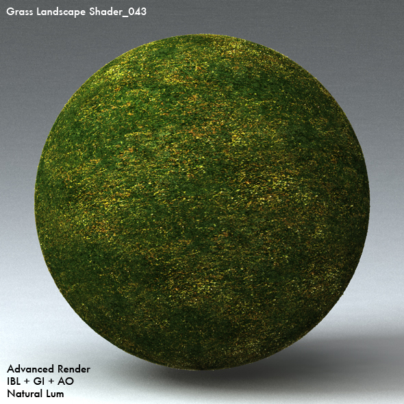 Grass Landscape Shader_043 - 3DOcean Item for Sale