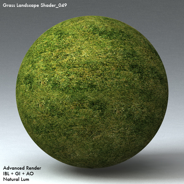Grass Landscape Shader_049 - 3DOcean Item for Sale