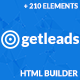 Getleads - Landing Page Pack with Page Builder