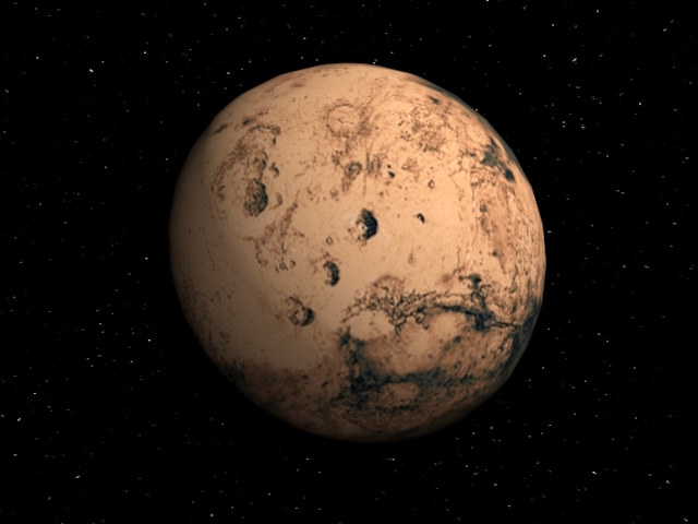 3DOcean Planet Mars 1465041