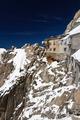 building in Aiguille du Midi - Mont Blanc