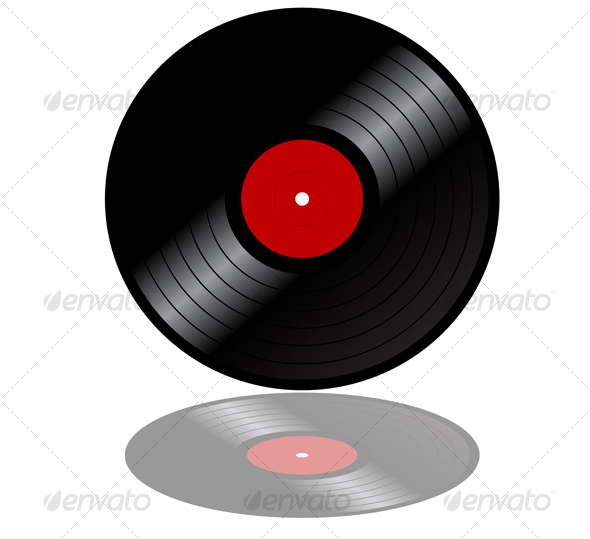 Vinyl record disk - Media Technology