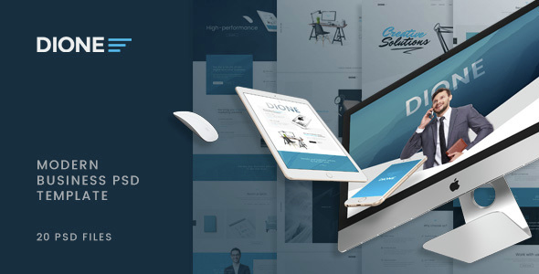 Dione - Enterprise PSD Template