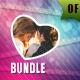 70 Valentine Photo Templates Bundle