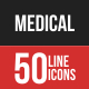 Medical Filled Line Icons