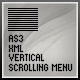 AS3 XML SCROLLING MENU - ActiveDen Item for Sale