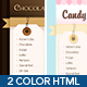 Chocolate & Coffee - HTML Template including PSD - ThemeForest Item for Sale