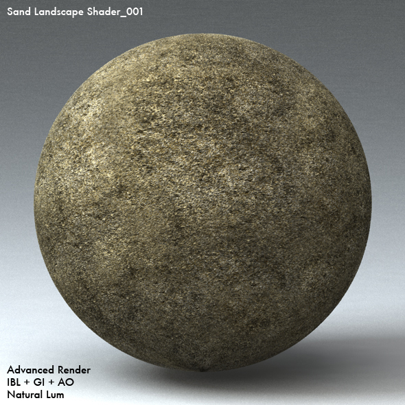 Sand Landscape Shader_001 - 3DOcean Item for Sale