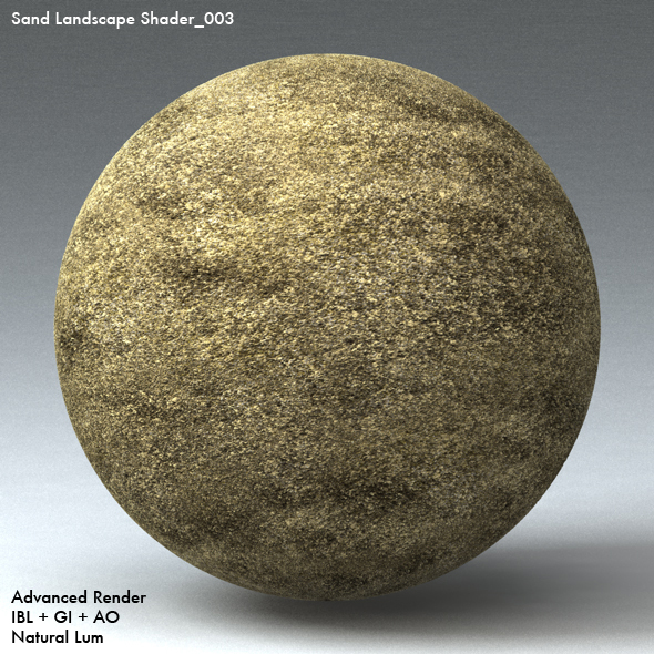 Sand Landscape Shader_003 - 3DOcean Item for Sale