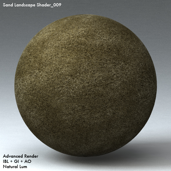 Sand Landscape Shader_009 - 3DOcean Item for Sale