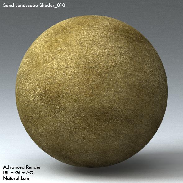 Sand Landscape Shader_010 - 3DOcean Item for Sale