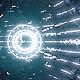 VJ Blue Neon Tunnel
