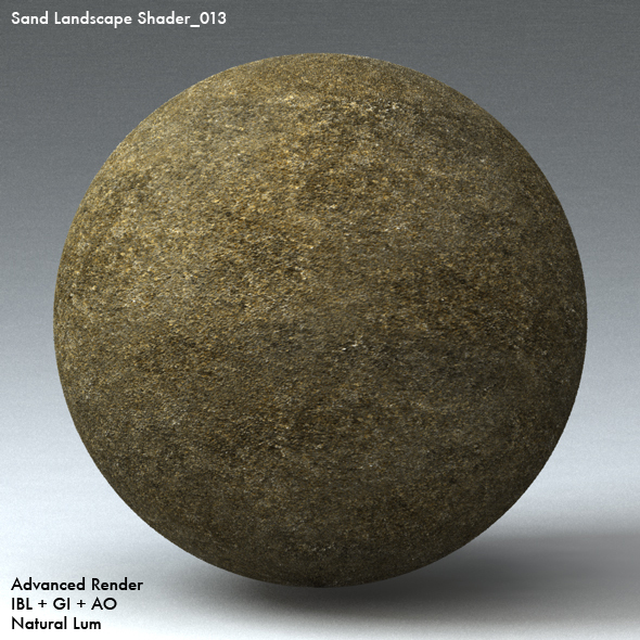 Sand Landscape Shader_013 - 3DOcean Item for Sale