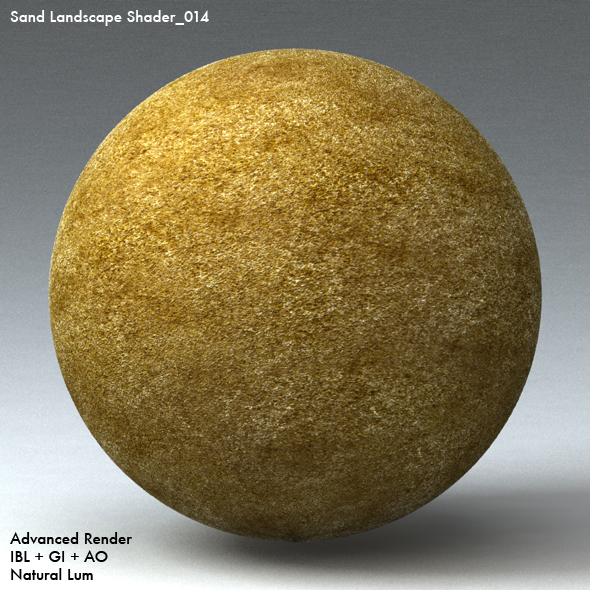Sand Landscape Shader_014 - 3DOcean Item for Sale