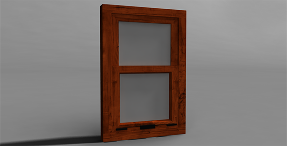 Window  - 3DOcean Item for Sale