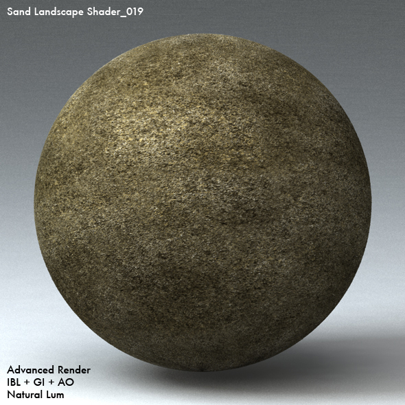Sand Landscape Shader_019 - 3DOcean Item for Sale