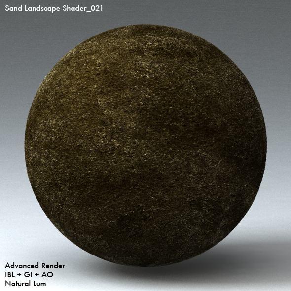 Sand Landscape Shader_021 - 3DOcean Item for Sale