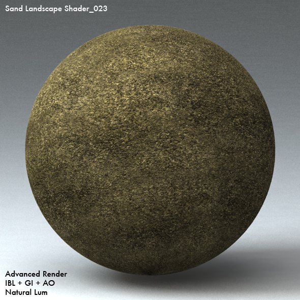 Sand Landscape Shader_023 - 3DOcean Item for Sale