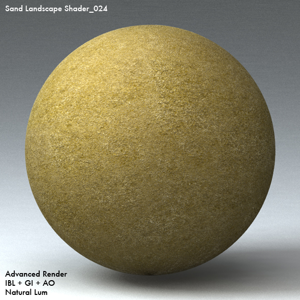 Sand Landscape Shader_024 - 3DOcean Item for Sale