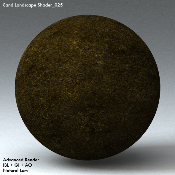 Sand Landscape Shader_025 - 3DOcean Item for Sale