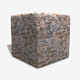 Colourful Rock Wall Seamless Texture