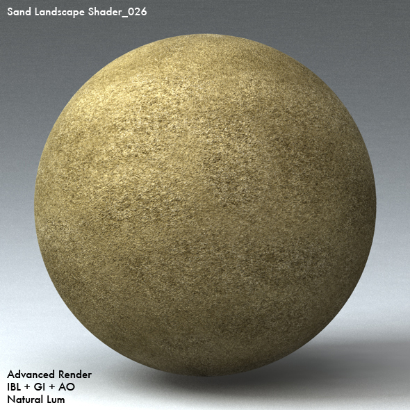 Sand Landscape Shader_026 - 3DOcean Item for Sale