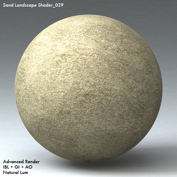 Sand Landscape Shader_029 - 3DOcean Item for Sale
