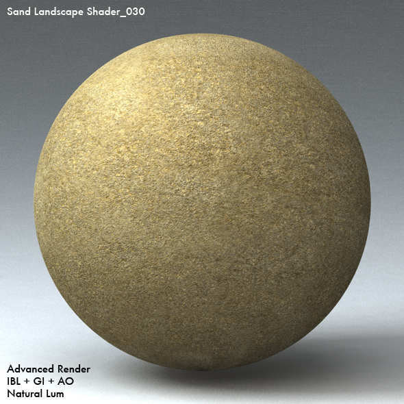 Sand Landscape Shader_030 - 3DOcean Item for Sale