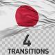 Japan Flag Transitions